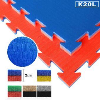 Pavimentazione antitrauma atossica in polietilene 100x100x20 , certificata EN71 E EN1177 ( HIC 70cm )