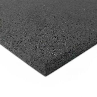 Tappeto gommato EWall grana media uso palestre 100x120x1 cm
