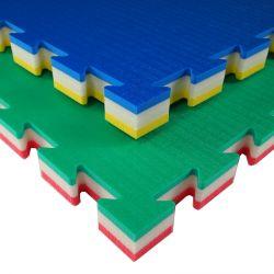 Pavimentazione atossica 100x100 polietilene antitrauma 40mm
