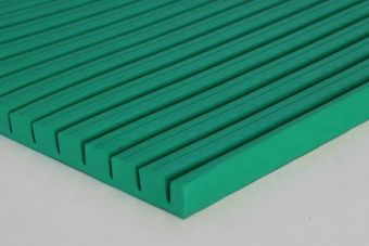 Protezione antitrauma di sicurezza Ondaflex 1x2 mt sp.2cm materiale ignifugo interno - esterno
