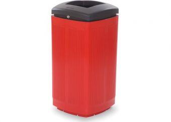 Cestone Toscano Rosso, realizzato in Polyetilene.