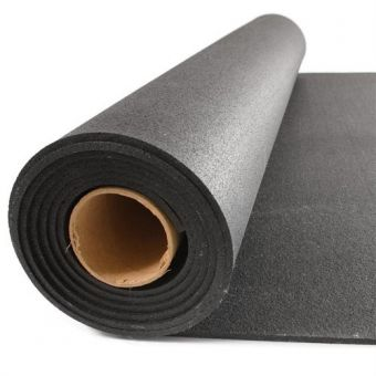 Pavimento in gomma a rotoli grana finissima 6 mm ( 12,50 mq )