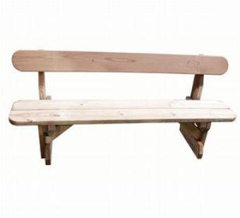 Panchina in Legno di Pino Nordico dimensioni per Bambini, ideale per scuole e luoghi pubblici.