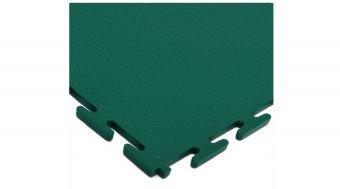 Piastrella STAR - in PVC spesso ( sp 10mm ) con incastro a vista ideale per fabbriche e luoghi di passaggio mezzi pesanti. ( per m² ) Finitura a Buccia D'Arancia