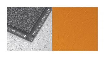 Piastrella LIBRA ,  in PVC di alta qualità (spess 7,5 mm)  . Ideale per palestre,  Finitura Ardesia e Granigliata