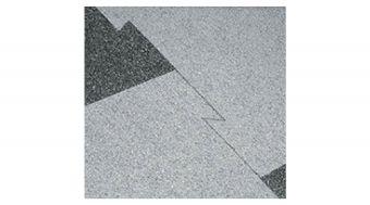 Piastrella Mercurio , (spess 4 mm) Finitura Granigliata,  utilizzo commerciale e fiere