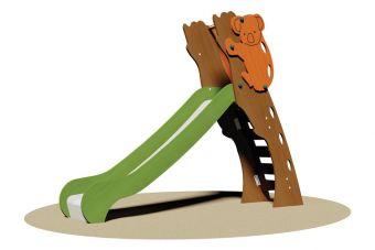 Scivolo Juma Wood per parco giochi