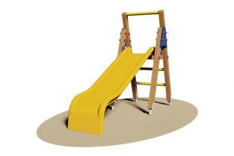 Scivolo Canarie con scala in Legno