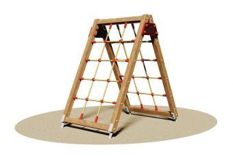 Stella, la doppia parete di arrampicata con rete