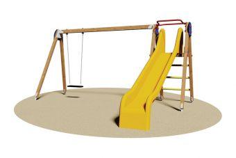 Seven Plus, struttura multi attività per parco giochi