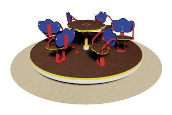 Giostra con sedili  6 posti