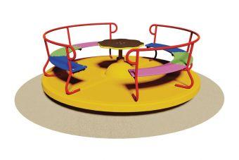 Giostra con divanetto per parco giochi