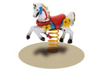 Pony il gioco a molla per parco giochi