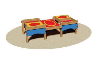 Tavolo da lavoro per parco giochi