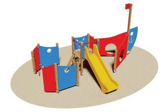 Barchetta il parco dei divertimenti