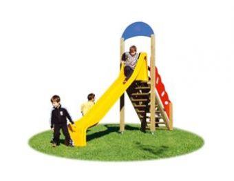 Scivoli per parchi e giardini pubblici - Scivoli in legno per giardini ...