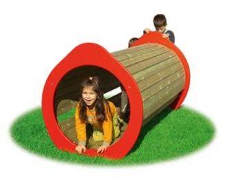 Tunnel Gallery in legno con telaio in acciaio ideale per parchi e giardini pubblici