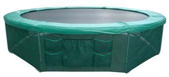 Rete di protezione base trampolino con tasche XXL