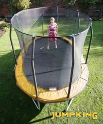 Trampolino ovale OVALPOD cm. 350 x 245 portata kg 159