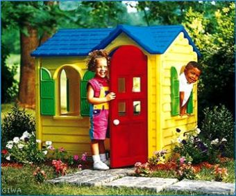 Vendita casette scivoli e altalene gioco per bambini for Casetta in plastica per bambini usata